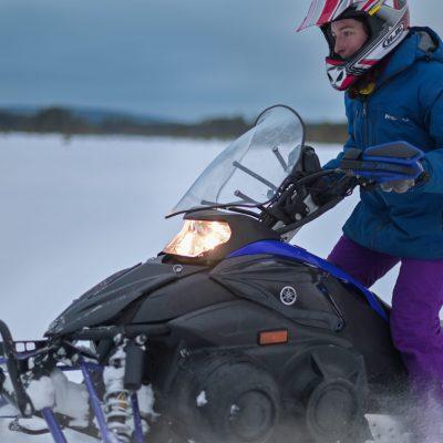 snowmobile fun drive parpalandia rovaniemi